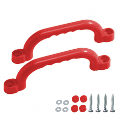 Pair of plastic handles