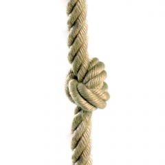 Climbing rope with knots 26 mm