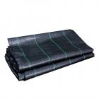 Weed control fabric 200x200 cm