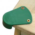 Set of 4 plastic sandpit corner protectors Wickey
