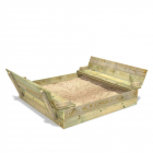 Sandpit Flippey 150x165x30 cm